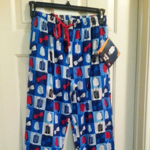Thinkgeek Doctor Who large L lounge pajama pants